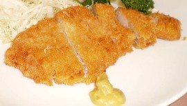 Japanese Food Vocabulary: tonkatsu