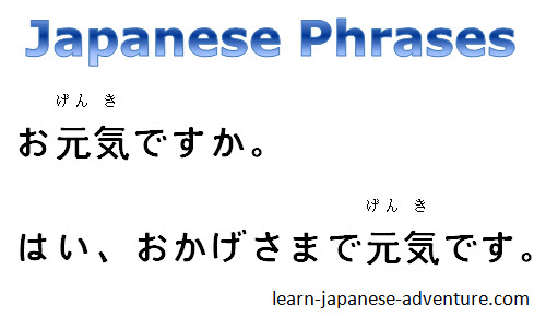 Japanese phrases for everyday life enrich your japanese phrases m4hsunfo