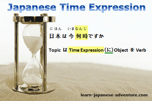 Japanese Time Expression